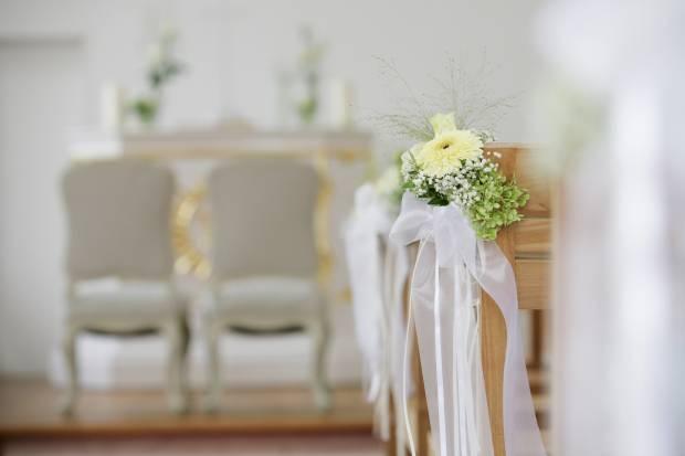 ślub na biało