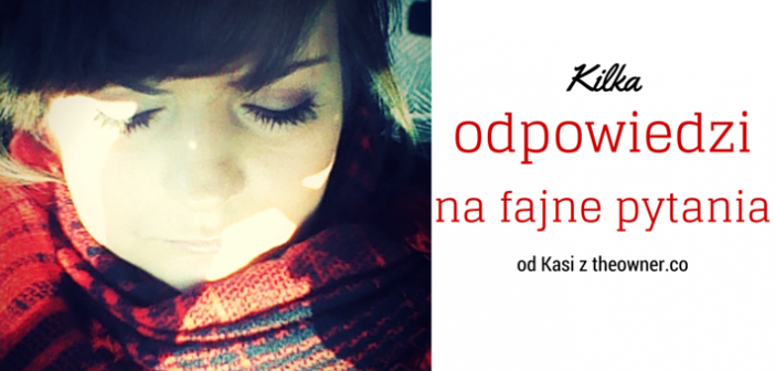 TAG na nowy rok – od Catherine the Owner