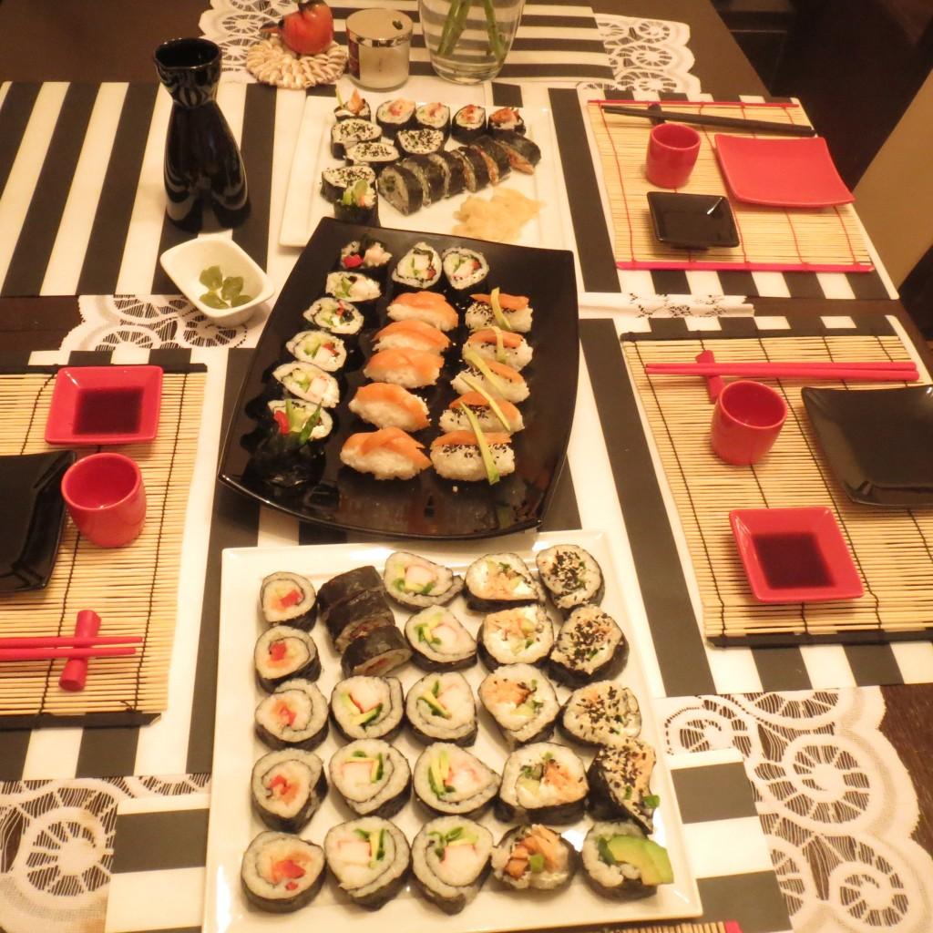 japońska kolacja