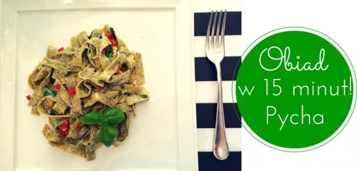 Obiad w 15 minut – wariacja na temat aglio a olio