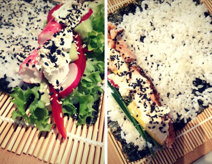 sushi z tuńczykiem