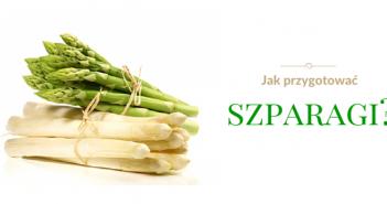 szparagi zielone i białe
