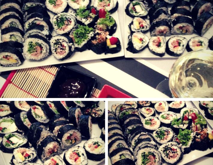 sushi robione w domu