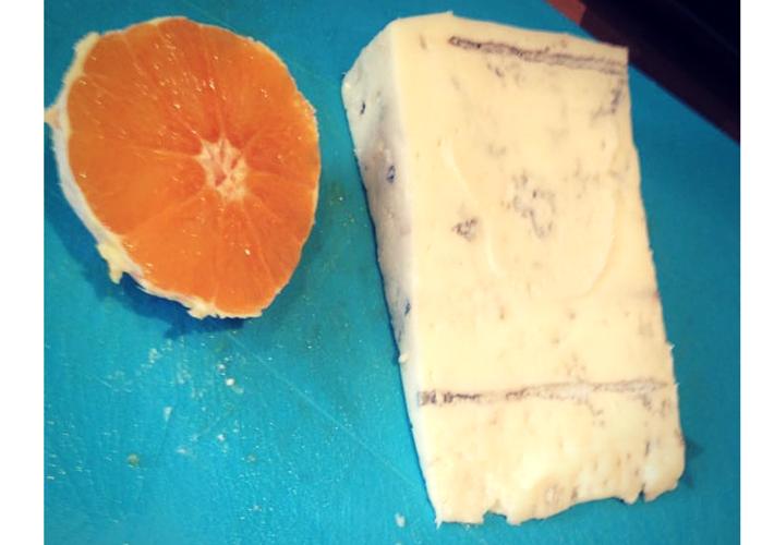 sałatka z serem gorgonzola
