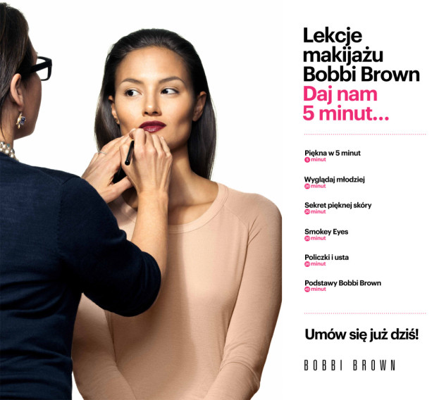 lekcje makijażu bobbi brown