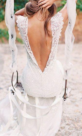 suknia slubna plecy