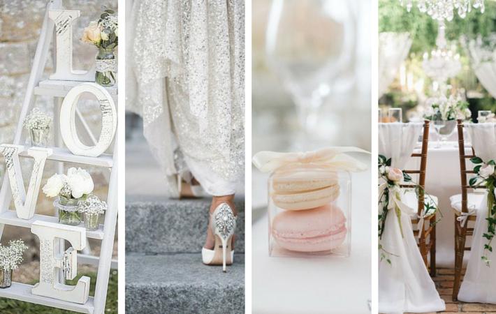 kolor przewodni na weselu biały