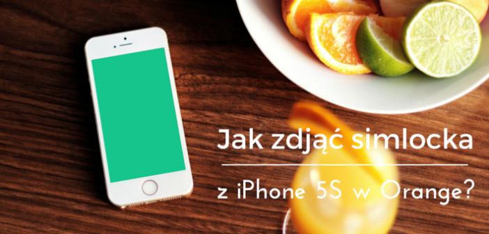 Jak ściągnąć simlocka Orange z iPhone 5s? Moja historia.