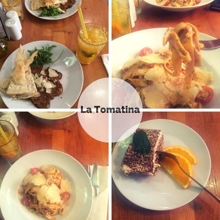 restaurant week la tomatina