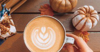Pumpkin spice latte kawa