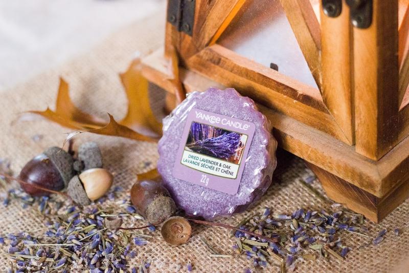 Dried Lavender & Oak Yankee Candle