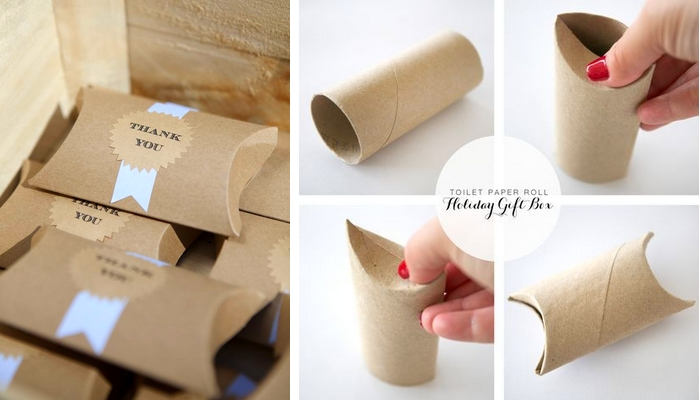 jak zrobić pudełko na małe prezent
